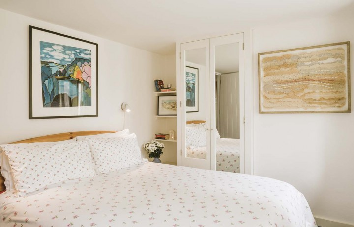Double bedroom in Old Saltings in St Ives